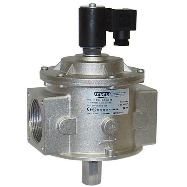 """MADAS kézi működtetésű gáz mágnesszelep 2"""", 230V (Cikk:CM07C008)"""