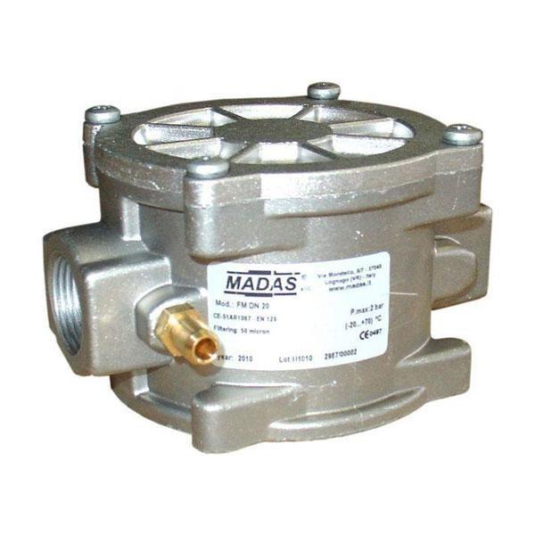"""MADAS gázszűrő 1/2"""", (Cikk: FM02000B50)"""
