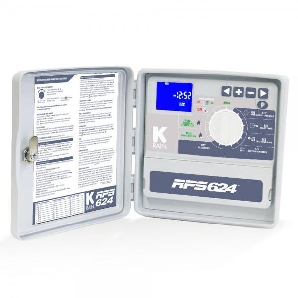 K-Rain RPS 624 vezérlő 18 zónás kültéri