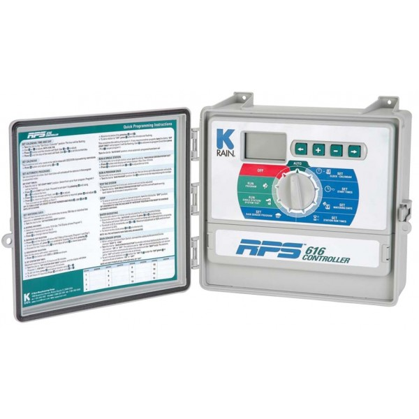 K-Rain RPS 616 vezérlő 9 zónás kültéri
