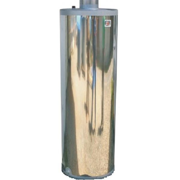 FM - fatüzelésű bojler 90 literes felső rész