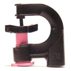 PP Super mikrofej - 140l/h, rózsaszín fúvókával