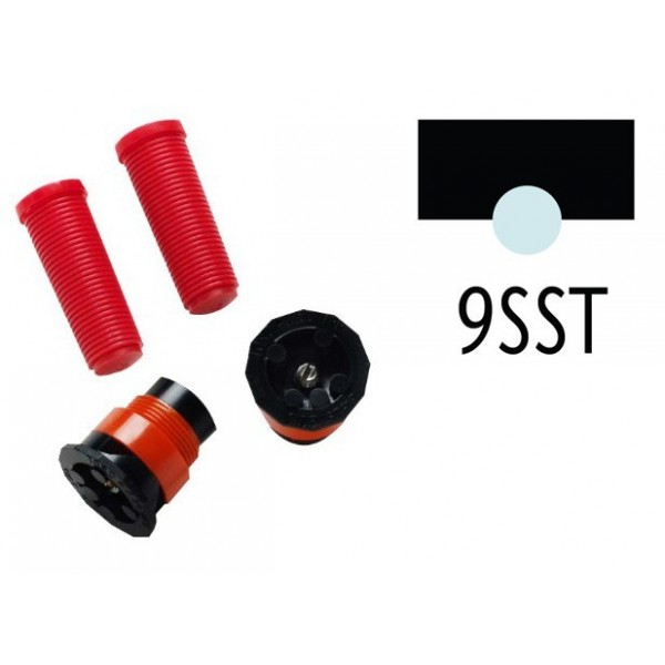 Toro 570 MPR fix fúvóka 9-SST sávszóró (2.7x5.5 m, piros)