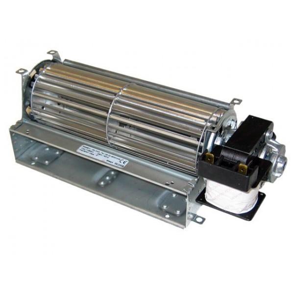 Hőtárolós kályha ventillátor motor SX180/15 tangenciális jobbos