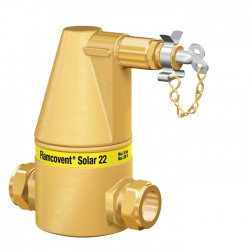 Flamcovent Solar 22 légleválasztó - 22 mm (Kód: 28062)