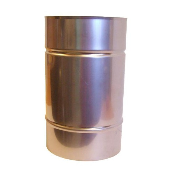 120-as saválló acél béléscső (hossz: 25cm)