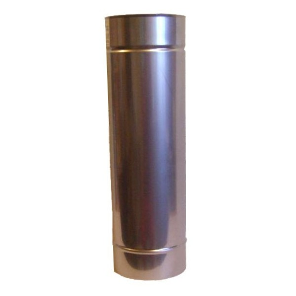 120-as saválló acél béléscső (hossz: 100cm)