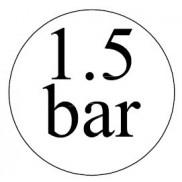1,5 bar-os biztonsági szelepek