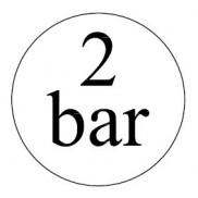 2 bar-os biztonsági szelepek