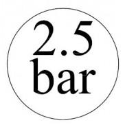 2,5 bar-os biztonsági szelepek
