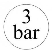 3 bar-os biztonsági szelepek