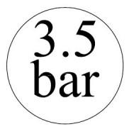 3,5 bar-os biztonsági szelepek
