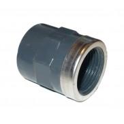 PVC ragasztható csatlakozó belső menetes